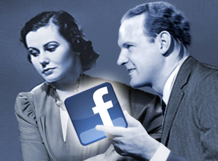 """Look. I'm sick of you and you obviously loathe me. But Facebook seems to think we still have something, so what say we give it another go?"""