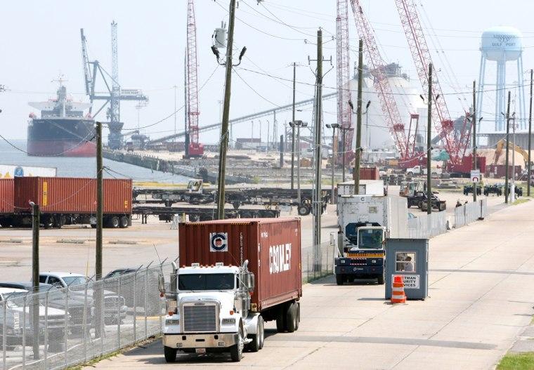 Image: Gulfport Miss. State Port