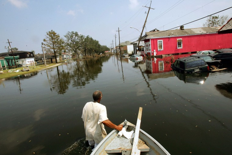 Image: Rescue And Recovery Efforts Continue One Week After Hurricane Katrina