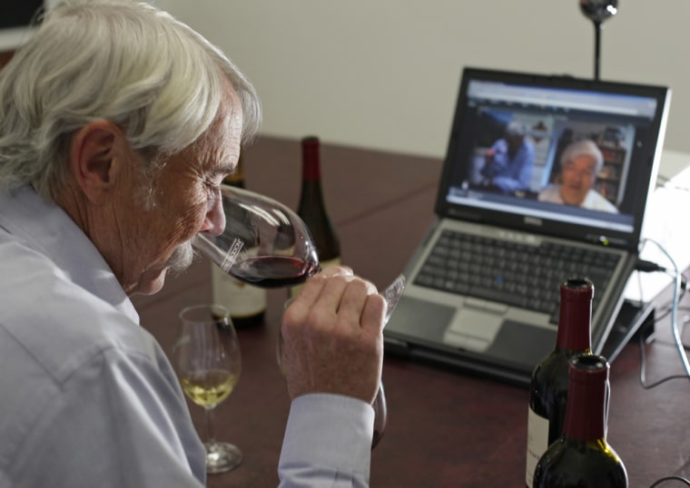 Image: Randy Ullom, winewmaster of Kendall-Jackson Wine Estates