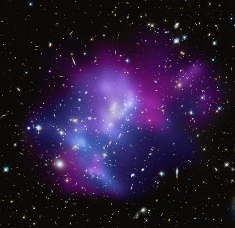 Image: Galaxy cluster