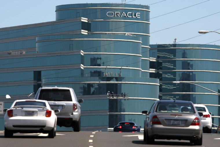 Image: Oracle headquarters