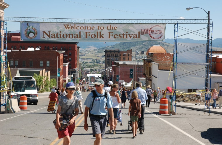 Image: National Folk Festival