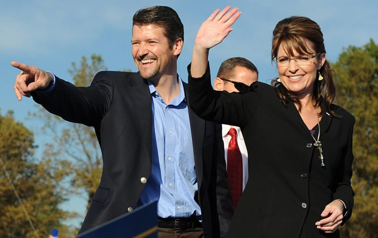 Image: Sarah Palin and her husband Todd
