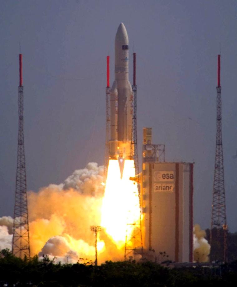 Image: Herschel & Planck Ariane 5 ECA V188 launch