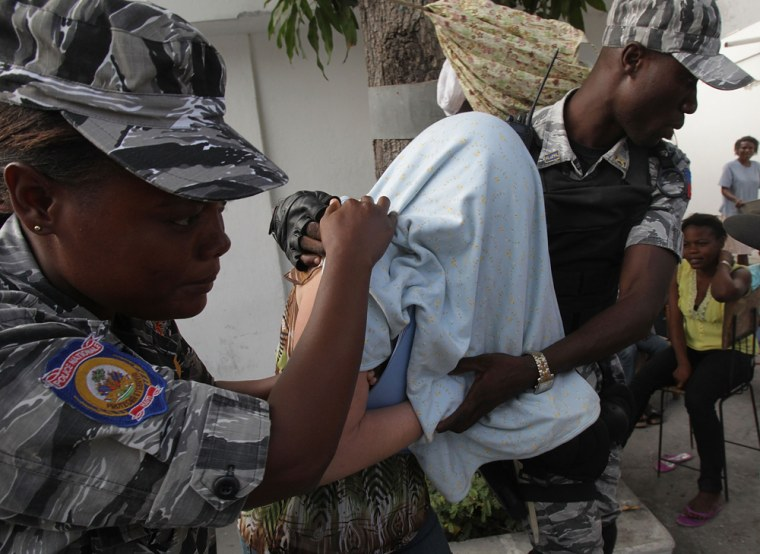 Image: Court Hearing Held For Missionaries Suspected Of Taking Kids Out Of Haiti