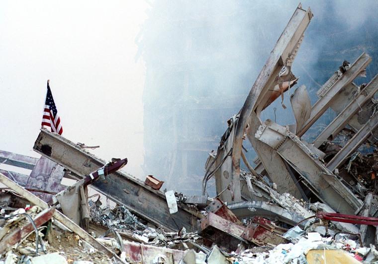 Image: Ground Zero Two Days After World Trade Terror Attack