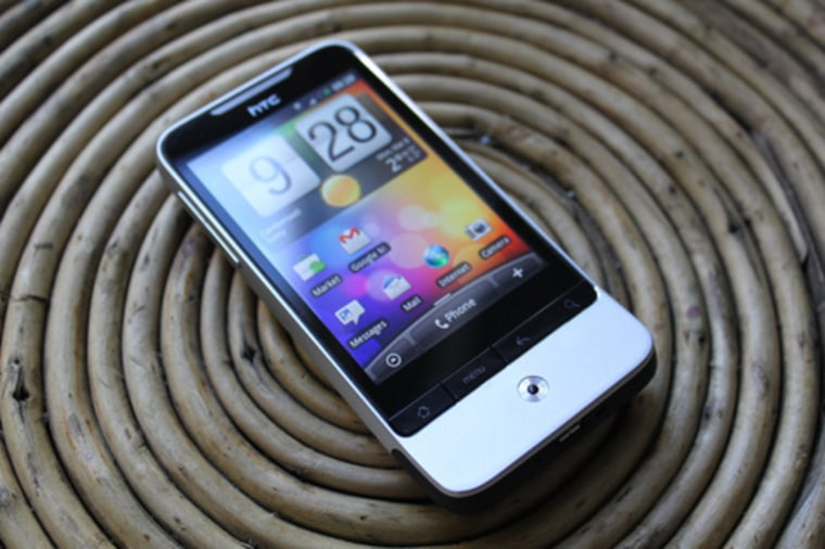 """Reviewer: """"Plain and simple — the Legend is the most well-built phone I've ever had in my hand."""""""
