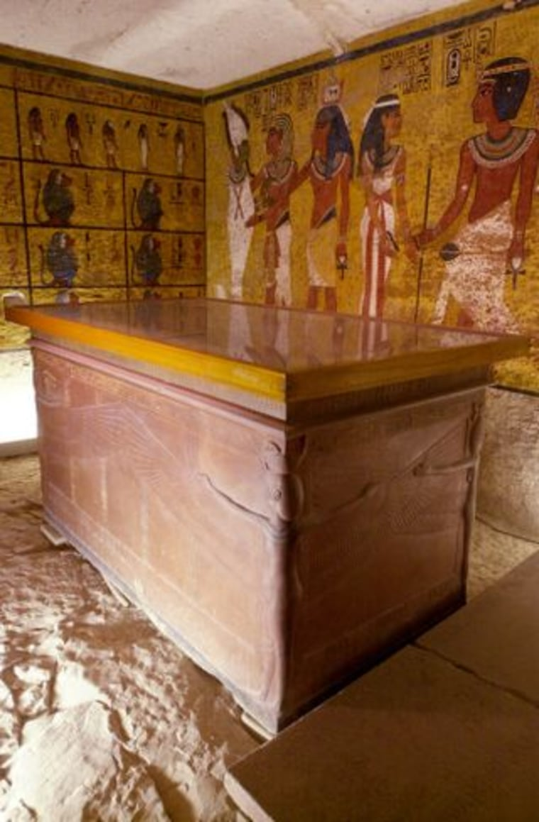 Located in the Valley of the Kings, the tomb of Tutankhamen is among the most heavily visited sites in the Theban necropolis.