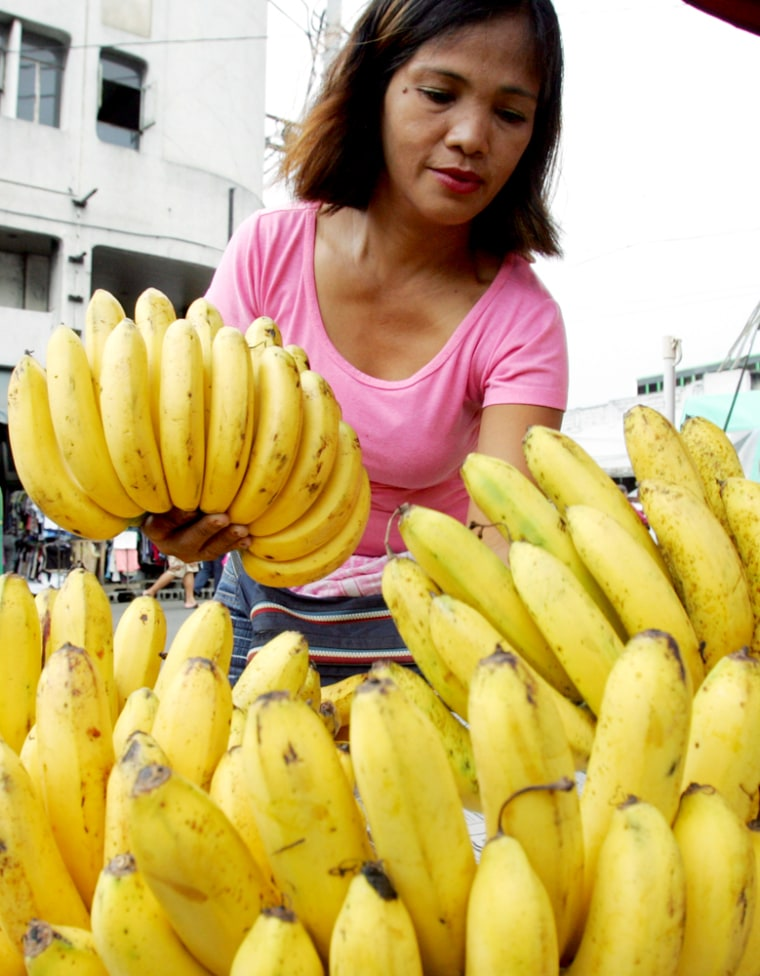 Image: Bananas in the Philippines