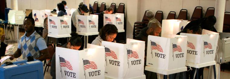 Image: Los Angeles voters