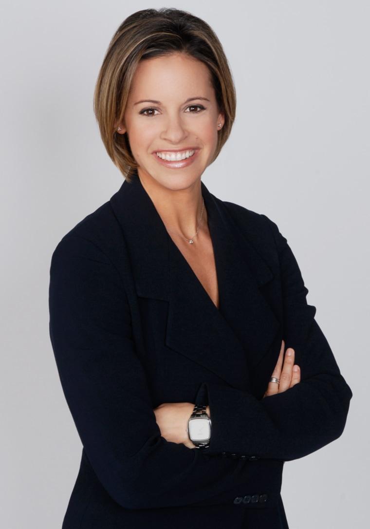 TODAY -- Pictured: Jenna Wolfe, NBC News Correspondent -- NBC Photo: Barbara Nitke