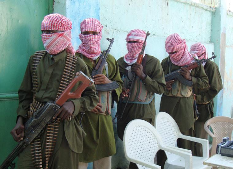 Image: Shebab insurgents