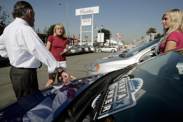 Image: Chevrolet salesman Philip Jordan