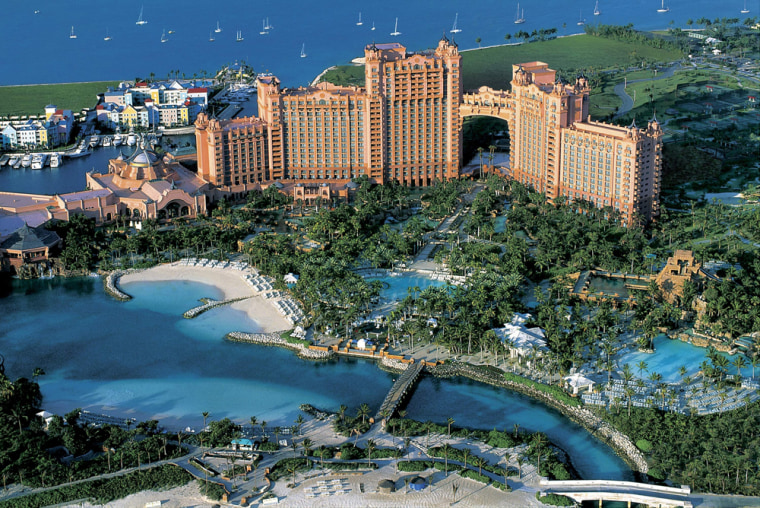 Image: Atlantis resort in the Bahamas