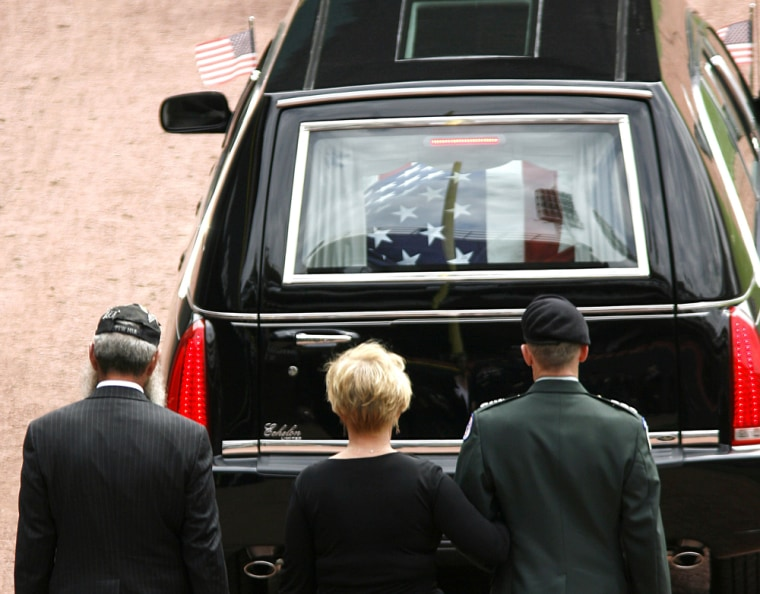 Image: Funeral for U.S. Army Staff Sgt. Matt Maupin