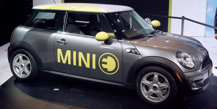 Image: Mini E electric car