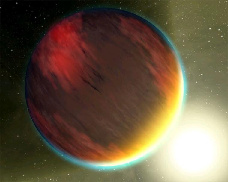Image: Jupiter-like planet artist's impression