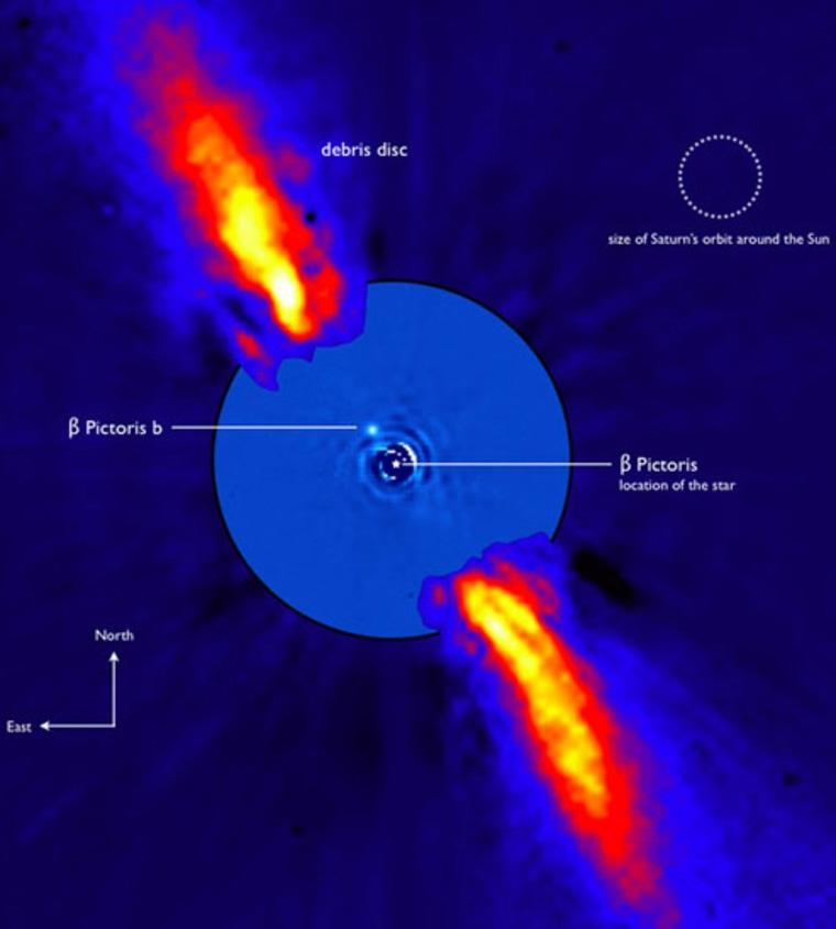 Image: Beta Pictoris system