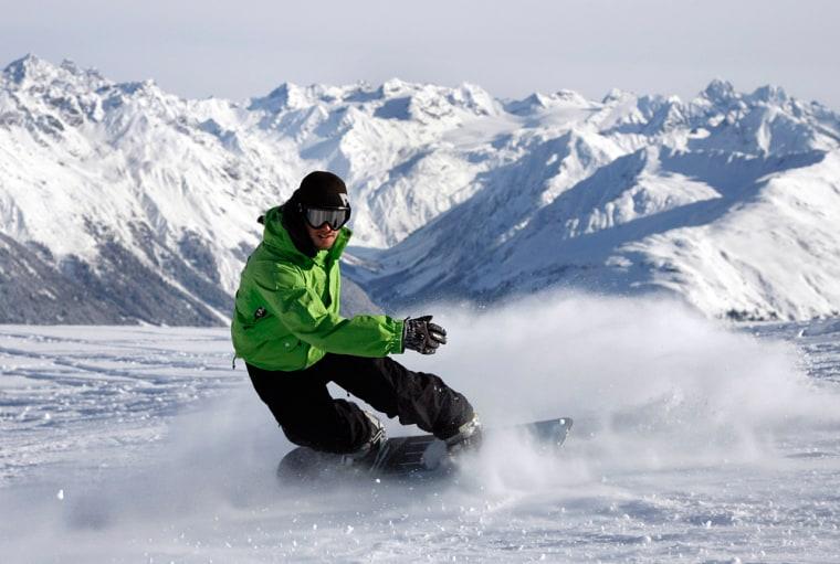 Image: Snowboarder