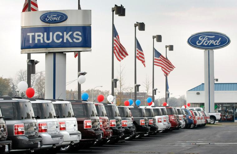 Image: Ford dealership