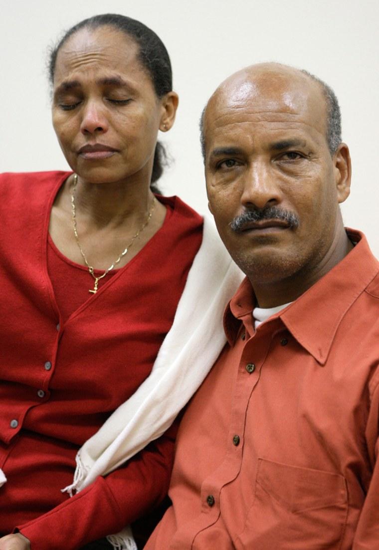 Image: Zerai Tesfai and Maaza Gebremedhin