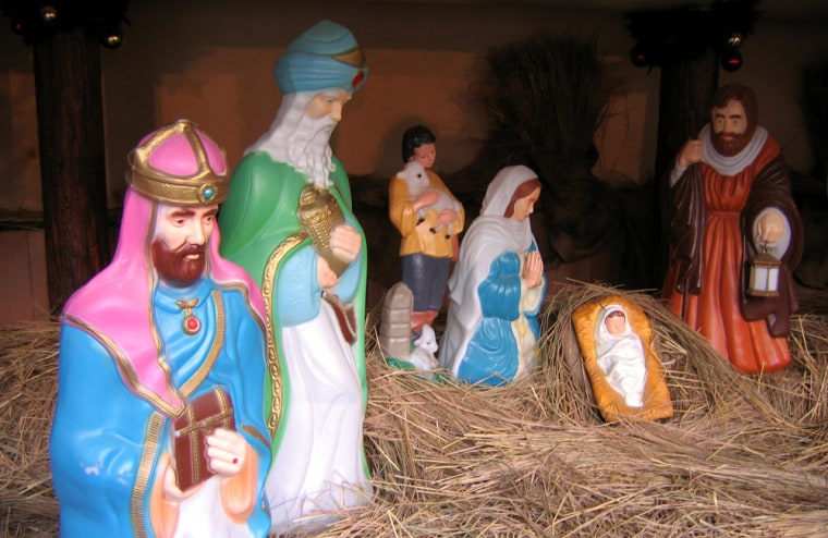 Some stolen Jesus figurines have in the pastbeen defaced with profanity or Satanic symbols.