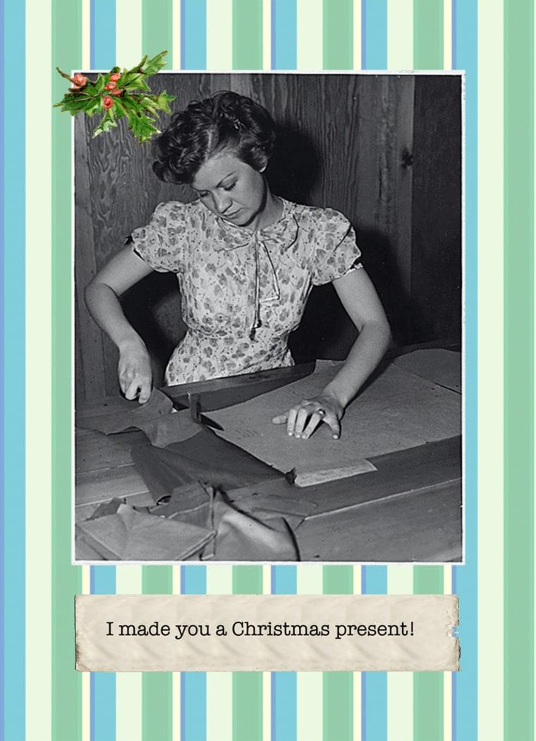 Image: Holiday greeting card