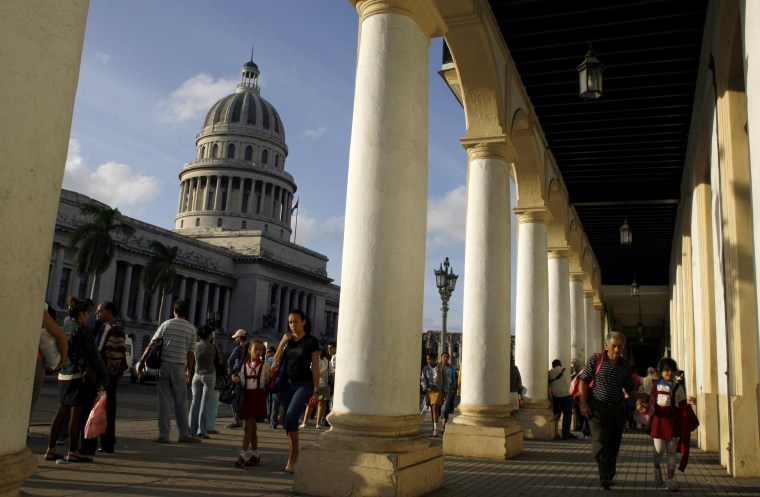 """Destinations that were considered off-limits (such as Cuba, pictured), too dangerous or hostile to Americans are becoming fashionable again as travelers jettison boring """"staycations"""" for something more exotic."""