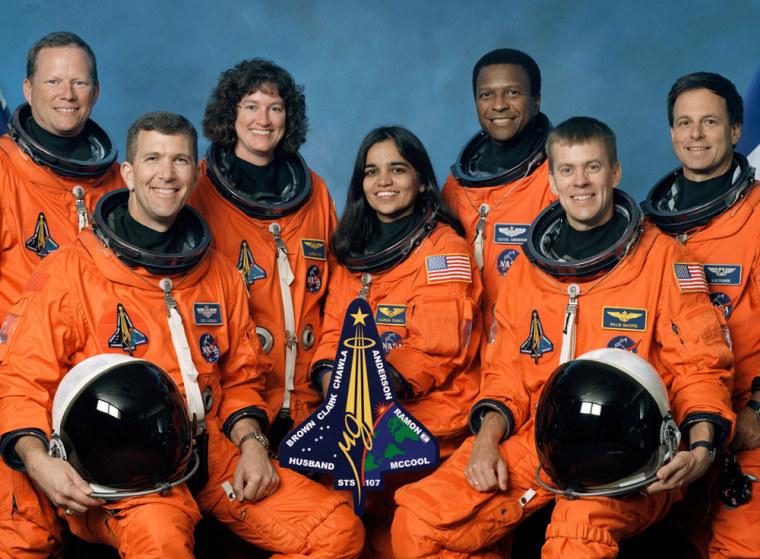 Image: Columbia crew