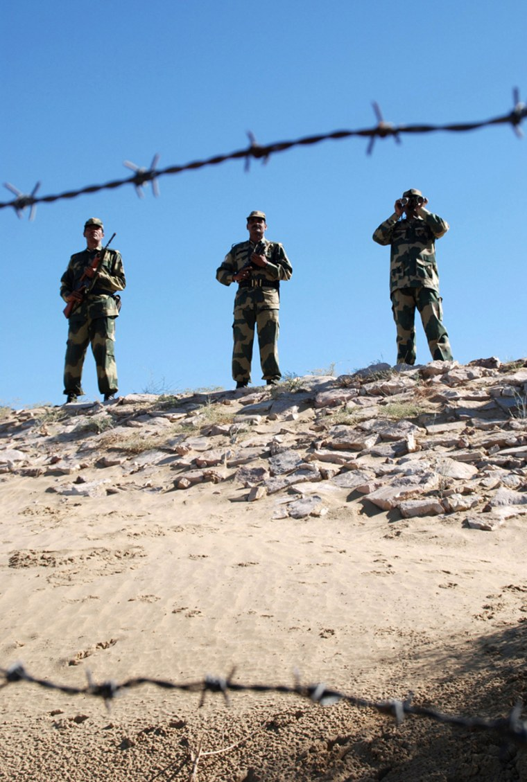 Image: Indian Border Security Force (BSF) soldiers