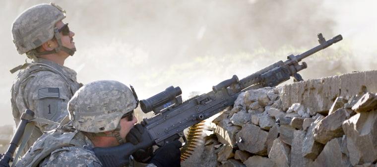 Image: U.S. soldiers in eastern Afghanistan