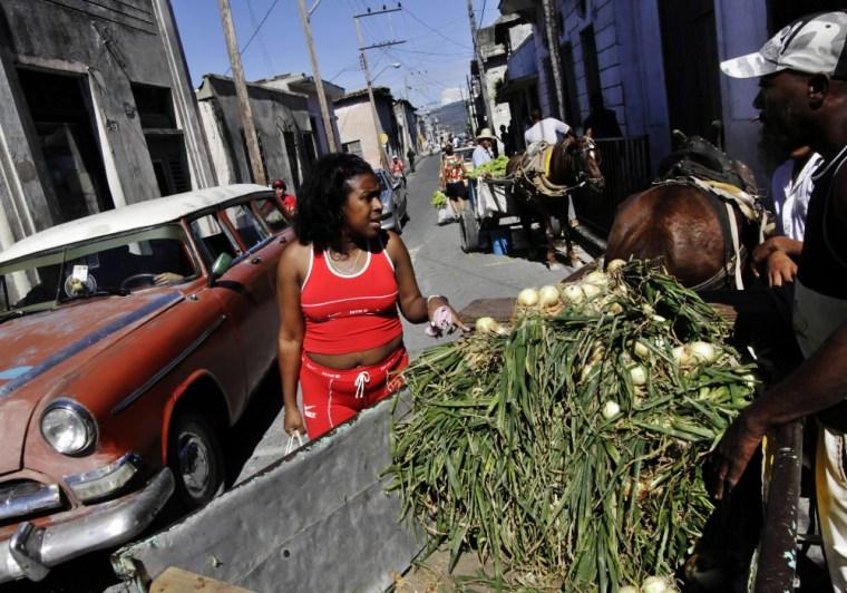 Image: Cuba celebrates 50 years of Communism.