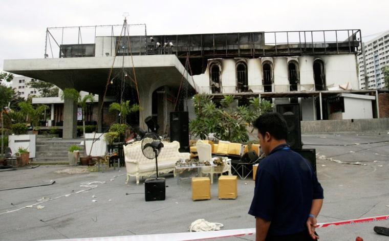 Image: Santika nightclub fire aftermath