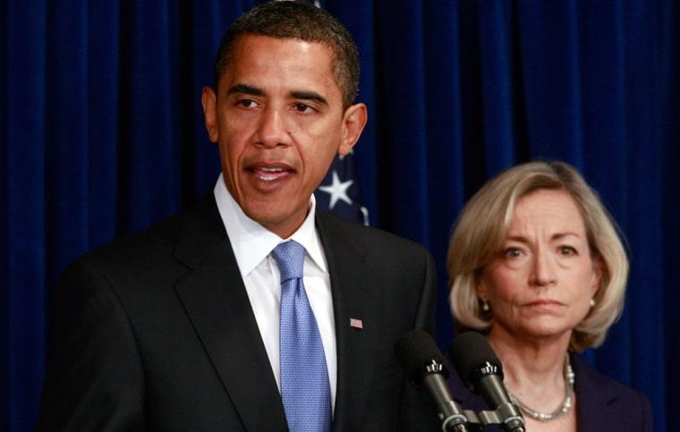 Image: Barack Obama, Nancy Killefer
