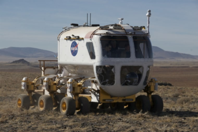 Image: Lunar rover prototype