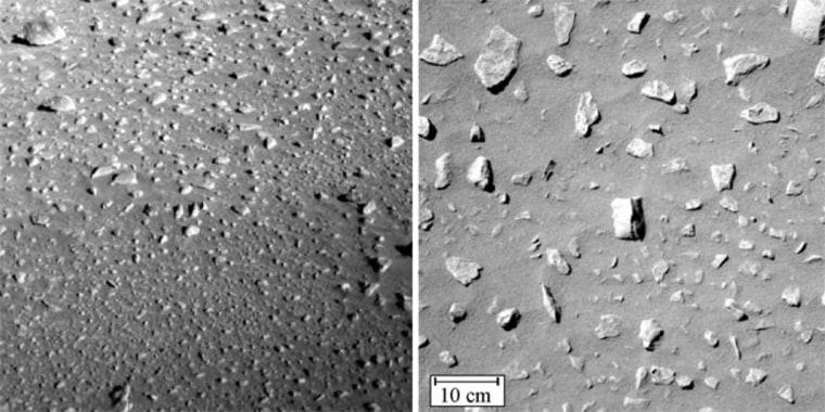 Image: Rocks on Mars