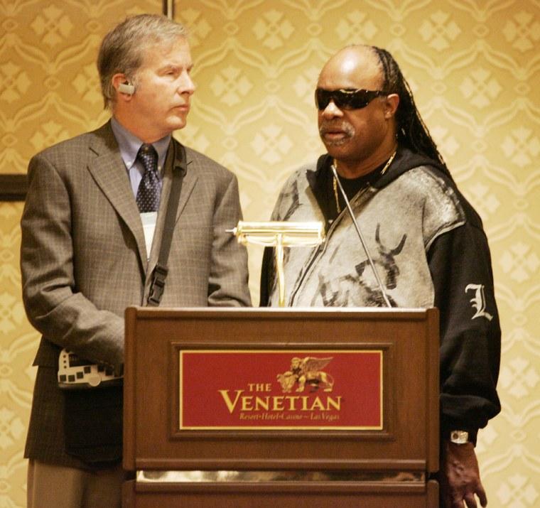 Image: Stevie Wonder, Mike May