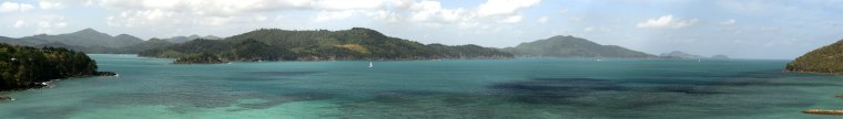 Image: view from Hamilton Island