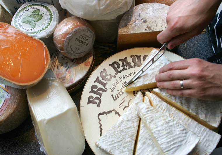 Image: brie cheese