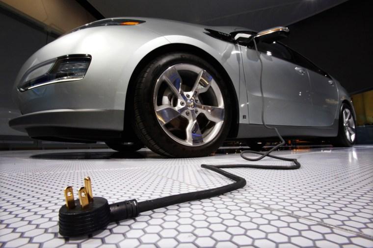 Image: Chevrolet Volt electric car