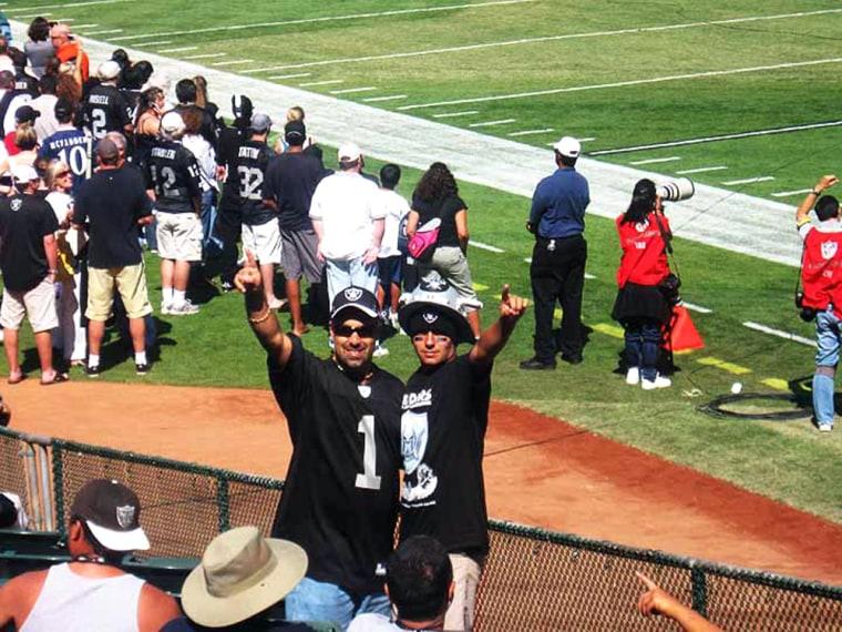 Image: Raiders fans
