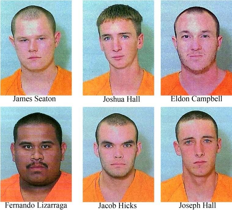 Image: arson suspects