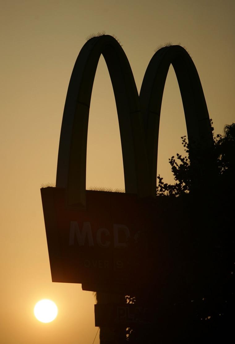 Image: McDonalds restaurant