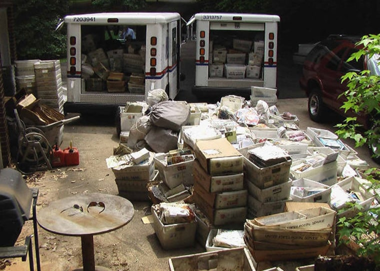 Image: Mail hoarders