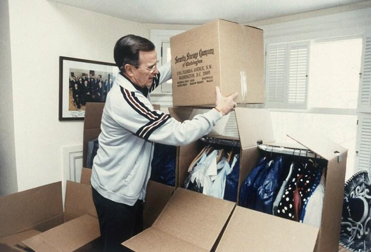Image: George Bush packs