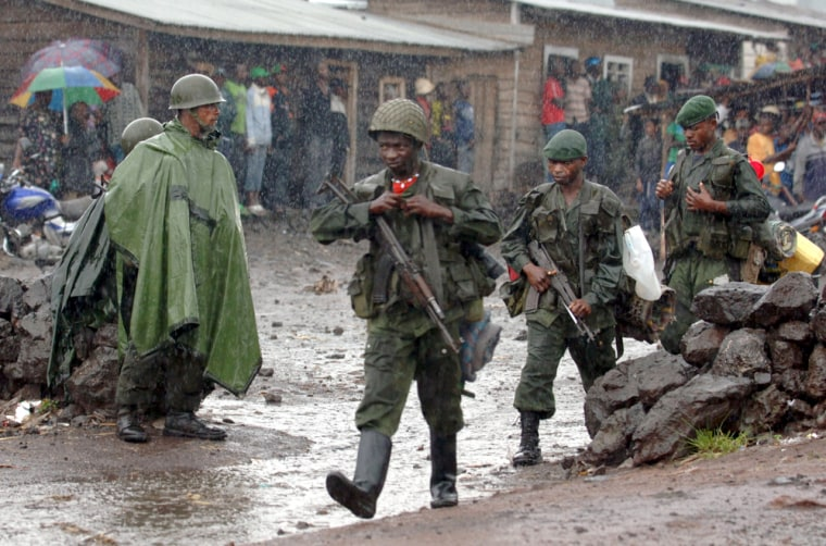 Image: Congo National Army soldiers