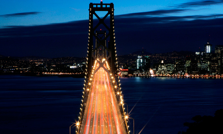 California's heavy reliance on vehicles, including rush hour scenes like this one over the Bay Bridge in San Francisco, prompted Gov. Arnold Schwarzenegger to ask the federal government for a waiver so that the state could require cleaner cars.
