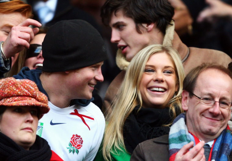 Image: Prince Harry and Chelsy Davy