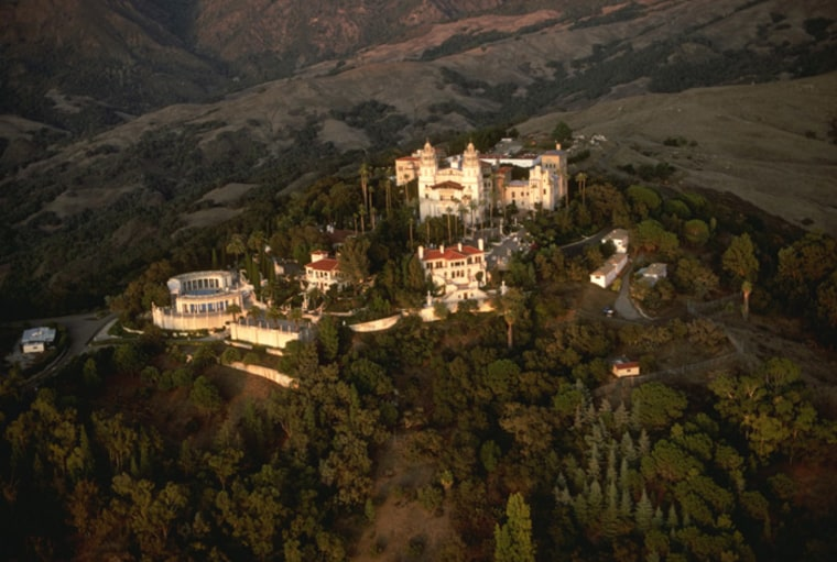 Quite possibly the nation's most famous castle, William Randolph Hearst went to great lengths to bring back the best of European architecture — most notably ceilings from churches and monasteries — which were pieced back together in California to create his highly eclectic Central Coast getaway.